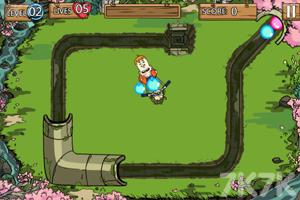 《保卫下水道祖玛》游戏画面1
