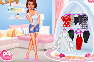 《爱逛街的女孩们》游戏画面1