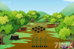 《小蜗牛逃走》游戏画面2