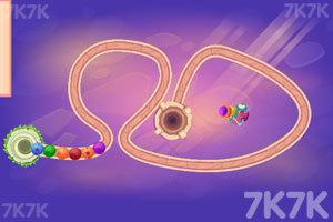 《五彩圆珠祖玛》游戏画面3