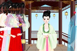 《汉唐宫女》游戏画面1