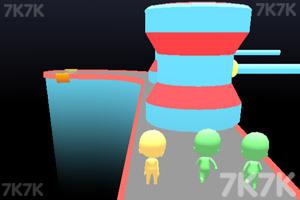 《趣味赛跑3D》游戏画面2