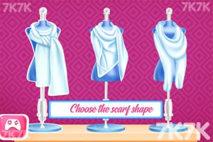 《时尚的冬季围巾》游戏画面3
