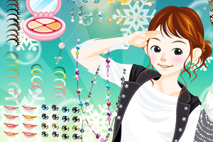 《打扮漂亮美女》游戏画面1
