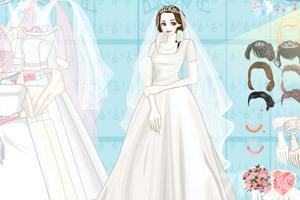 《美丽新娘换装》游戏画面2