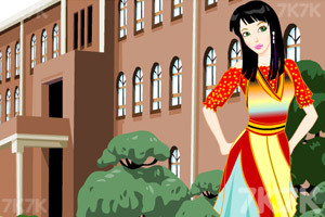 《打扮性感女生》游戏画面1