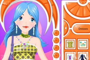 《打扮女生》游戏画面1