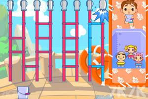 《接水游泳》游戏画面1