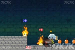 《火人兄弟古堡冒险》游戏画面2