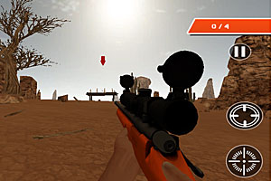 《荒野狙擊》游戲畫面1