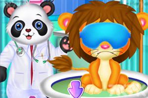 《找動物醫生看病》游戲畫面1