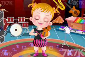 《可爱宝贝乐器行》游戏画面2
