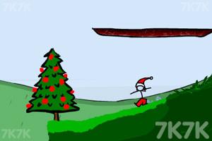 《小人冒险圣诞版》游戏画面1