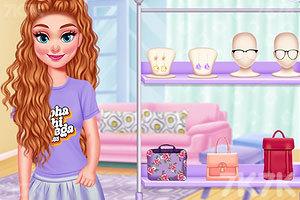 《设计闺蜜T恤》游戏画面4