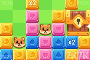 《宠物方砖消消乐》游戏画面1