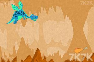 《贪吃的小火龙》游戏画面2