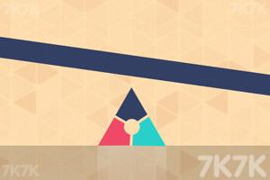 《多色三角转转转》截图1