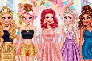 《女孩们的单身派对》游戏画面1