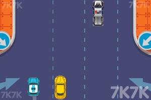 《快速避车》游戏画面2