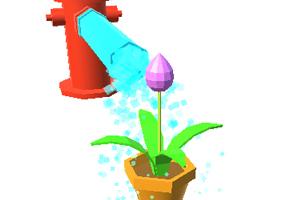 《给花儿浇水》游戏画面1