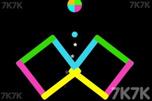 《穿越同色球》游戏画面2