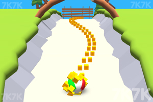 《黏球向前冲》游戏画面1