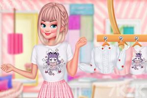 《粉色女孩装》截图1