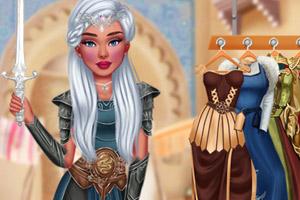 骑士公主装扮