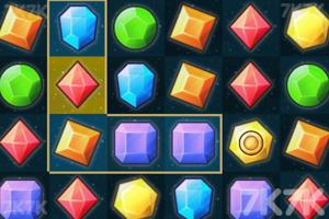 《宝石方块对对碰》游戏画面1