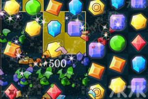 《宝石方块对对碰》游戏画面2
