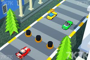 《城市賽車障礙賽》游戲畫面2