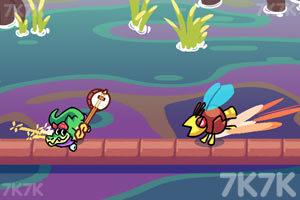 《鳄鱼速滑挑战》游戏画面3