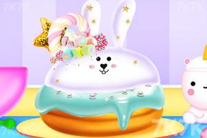 《独角兽彩虹蛋糕》游戏画面2