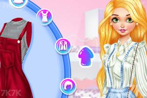 《个性少女衣橱》游戏画面1