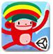 可爱彩虹猴