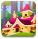 森林小屋着色