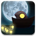 月光小船与渔灯
