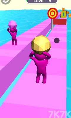《橡皮人抛掷》游戏画面4