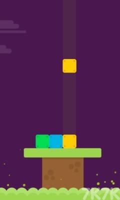 《坠落的方块》游戏画面1
