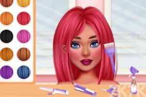 《校园新发型》游戏画面1