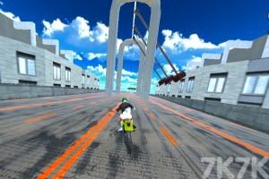 《都会摩托车比赛》游戏画面5