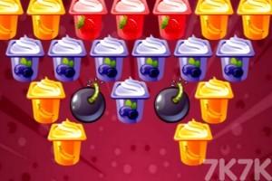 《布丁泡泡龙》游戏画面1
