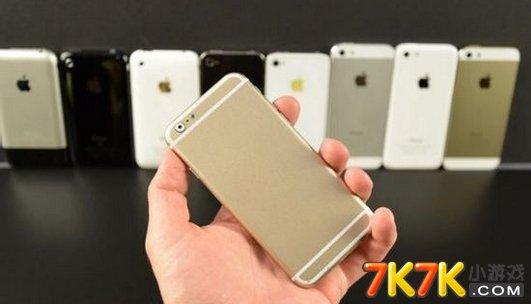 苹果/苹果6代手机图片苹果6超清概念机与每代苹果对比照