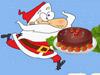 圣诞老人做蛋糕