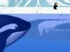 鲨鱼追企鹅