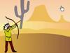 印第安美女弓手1
