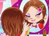 可爱的镜中的女孩1