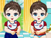 可爱双胞胎宝贝5