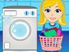 姑娘洗衣服1