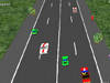 红色3D赛车1